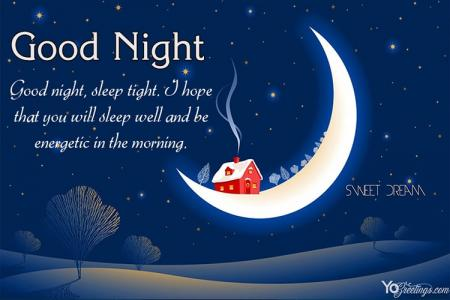 Free Download Good Night Wishes Card Images