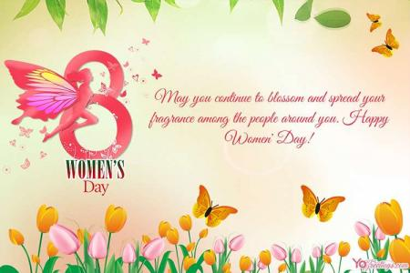 Latest International Women's Day Greeting Card 2021