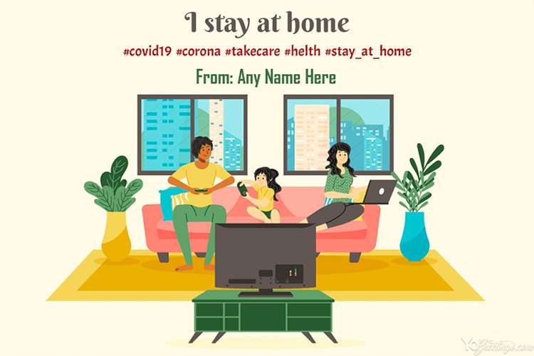 Stay at Home Cards Maker Online